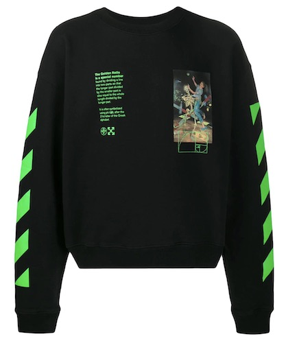 Farid Bang Pullover Off-White