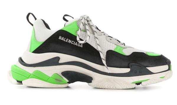 Farid Bang Sneaker Balenciaga Triple S