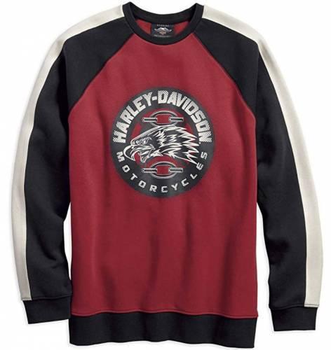 Harley Davidson Eagle Print Sweatshirt