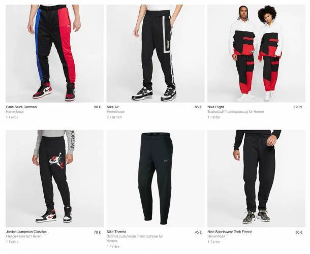 Nike Jogginghose Overview