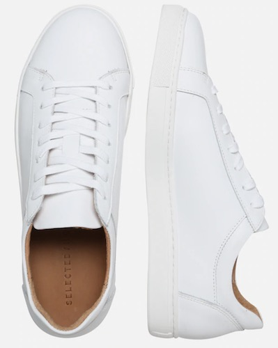 Selected Homme David Sneaker weiß