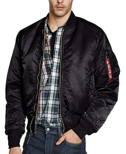 Alpha Industries oversized Bomberjacke