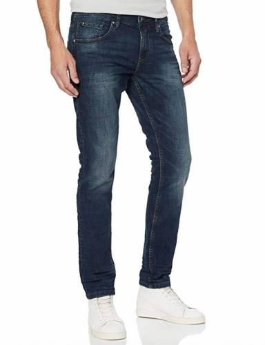 Tom Tailor Herren Piers Jeans blau