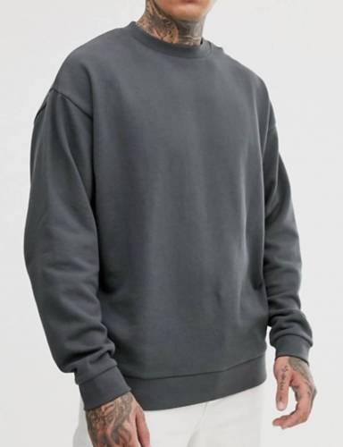 Asos Design Oversize Sweatshirt schwarz