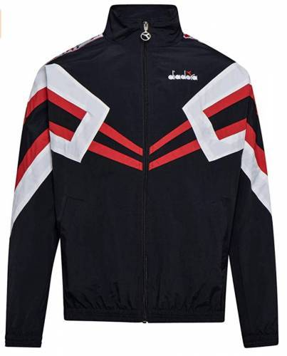 Diadora Hoodie Track Jacket MVB