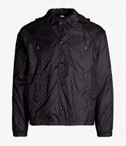Gucci Monogramm Jacke schwarz