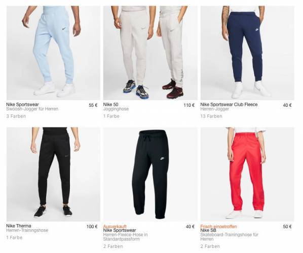 Nike Jogger Overview