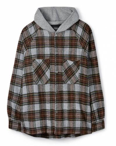 Represent Hooded Flannel Jacke 2020