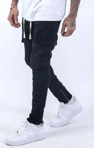 Skinny Jeans mit Zippern