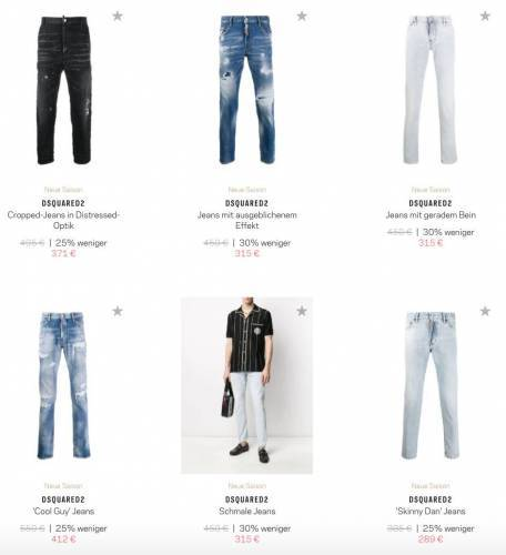 Dsquared2 Jeans Overview