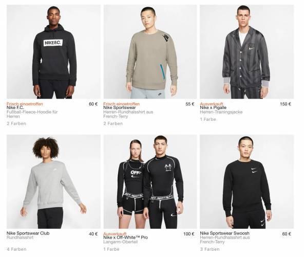 Nike aktuelle Sweatshirts