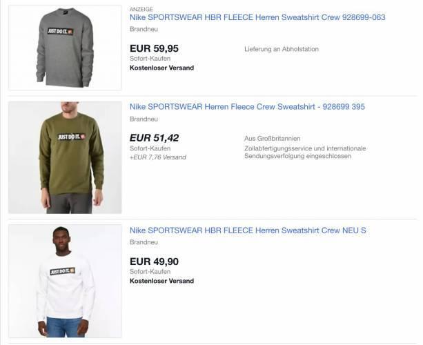 Nike Sportswear Pullover Ebay