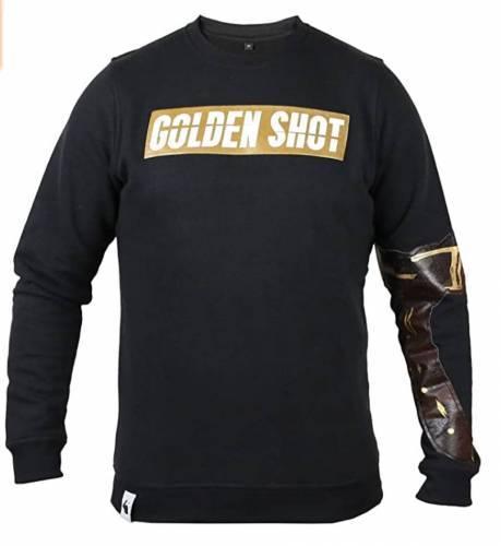 White Rabbit Golden Shot Sweater schwarz