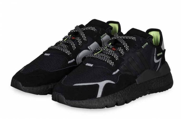 Adidas Nite Jogger schwarz Herren Schuh