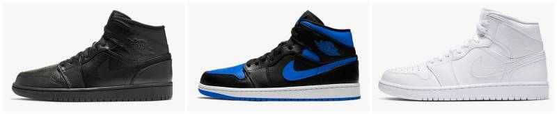 Air Jordan 1 Mid Sneaker Herren 2020