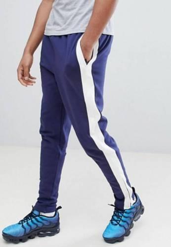 Data Luv Jogginghose blau-streifen Alternative