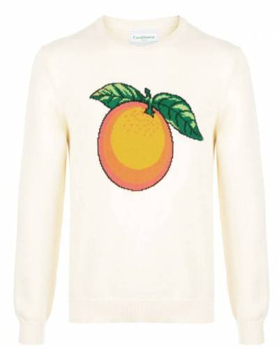Data Luv Sweater Orange