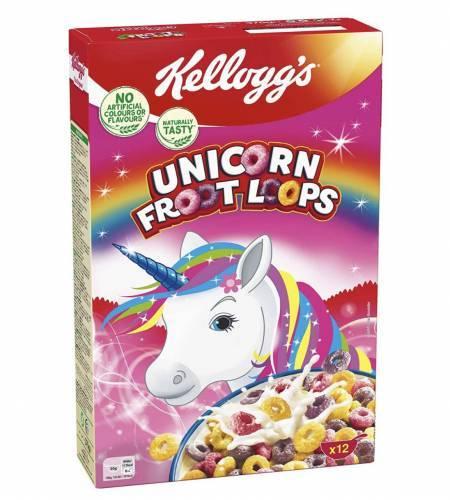 Kelloggs Unicorn Fruit Loops