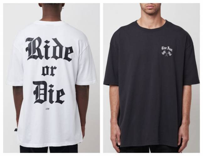 Live Fast Ride Or Die T-Shirt