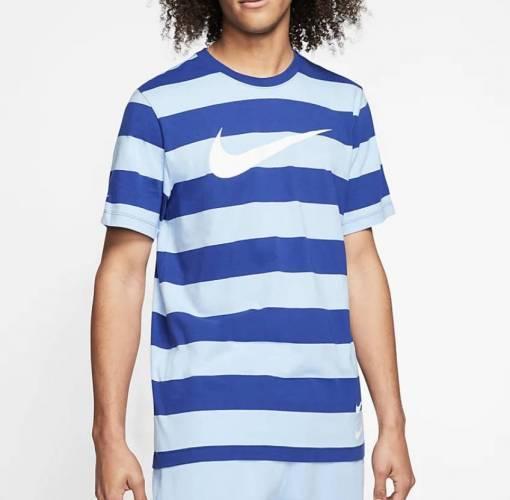 Nike striped Logo T-Shirt
