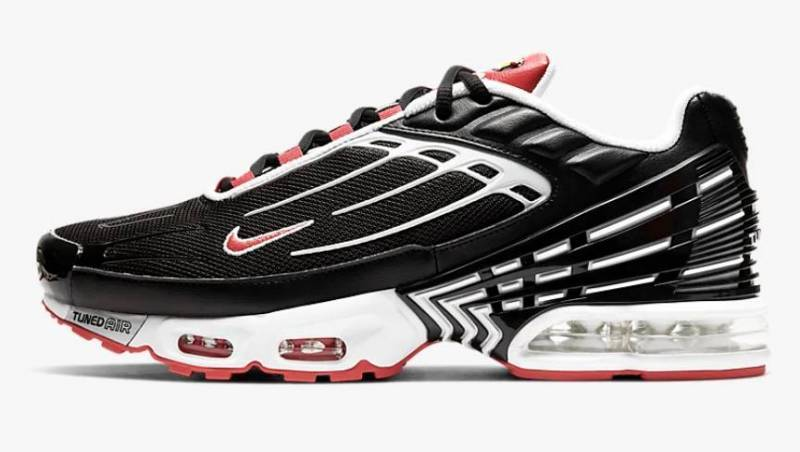 Nike Tuned Air rot schwarz