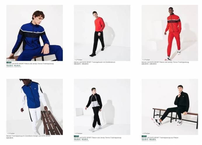 Pashanim Gang Lacoste Tracksuits