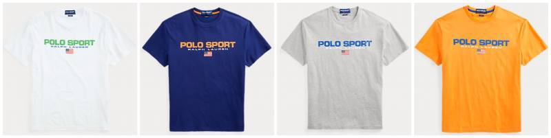 Polo Sport Logo USA T-Shirt