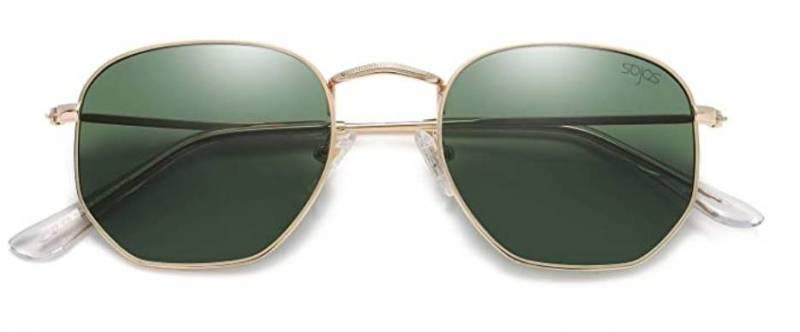 Sojos Mode Polygon Sonnenbrille