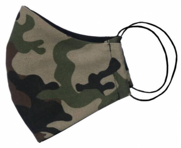 Camouflage Mundschutz