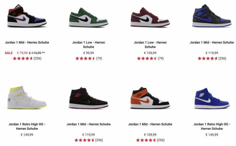 Nike Air Jordan 1 Herren kaufen