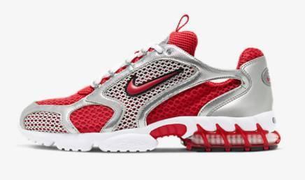 Nike Sneaker Spiridon Cage 2 rot
