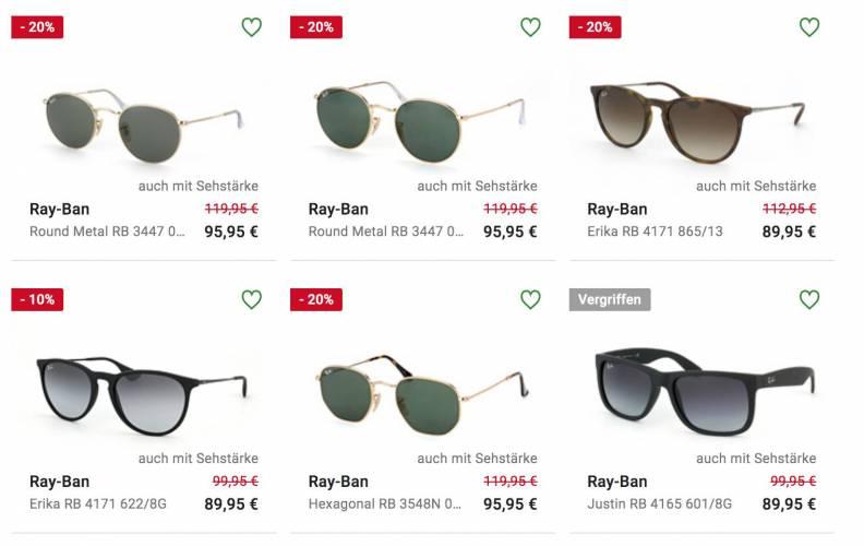 Sonnenbrillen Sale