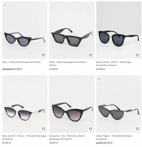 Summer Cem Sonnenbrille aehnlich