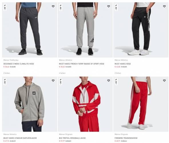 Adidas Anzüge reduziert