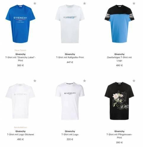 Aktuelle Givenchy T Shirts