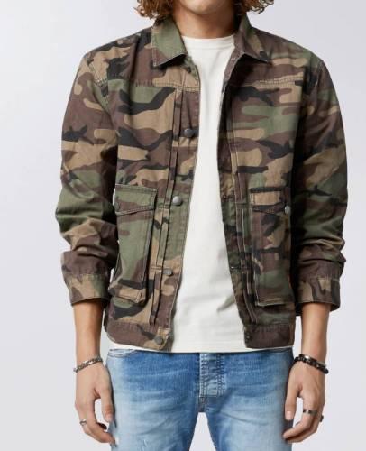 Azet & Albi Camouflage Jacke