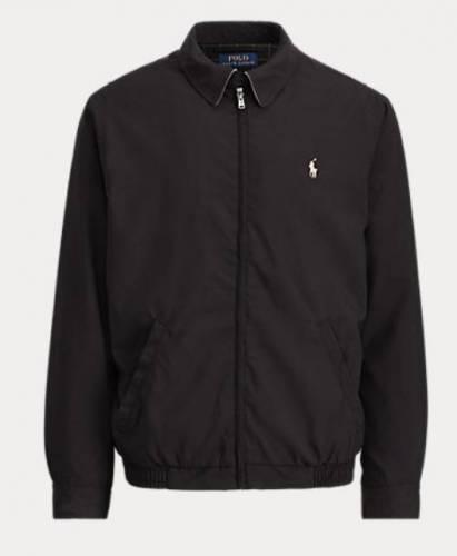 Luciano Prada Jacke schwarz Polo