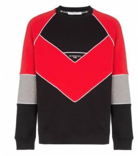 Santos Pullover weiss rot schwarz