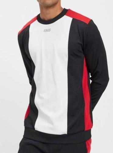 Santos Pullover weiss rot schwarz Alternative