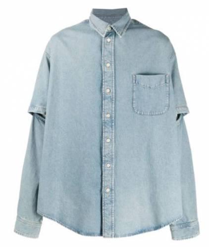 Summer Cem Jeans Hemd