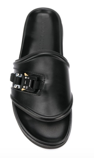 Ufo361 Slipper schwarz