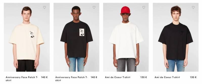 Amiparis Shirts all