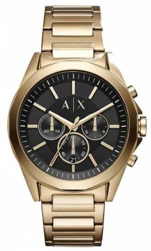Armani Exchange- Edelstahl Uhr