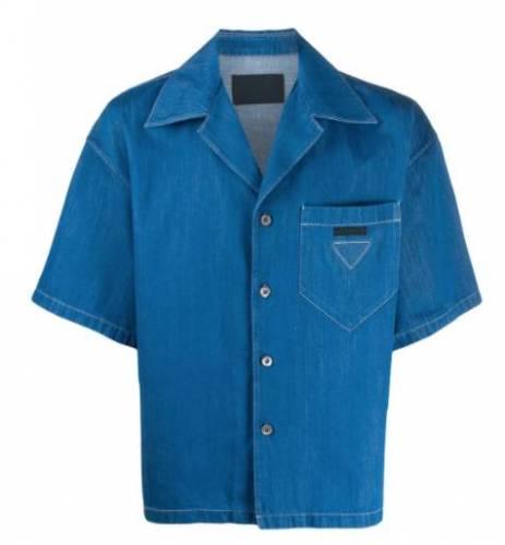 Luciano blaues Hemd