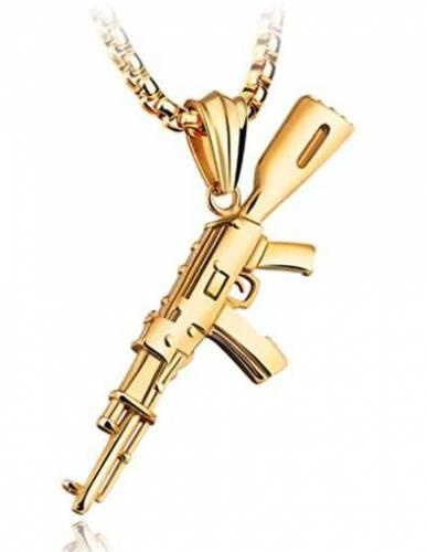 AK 47 Halskette Anhaenger