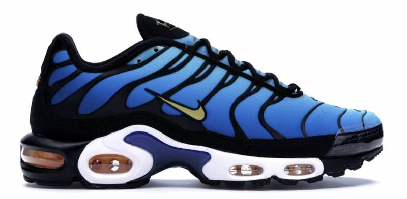 LX Nike Sneaker blau