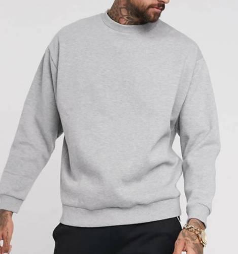 Nimo Oversized Sweatshirt grau