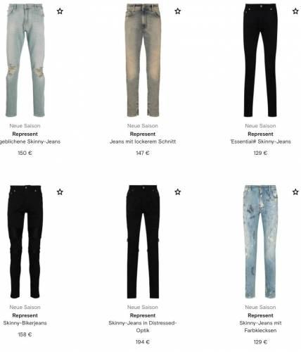 Represent Jeans alle