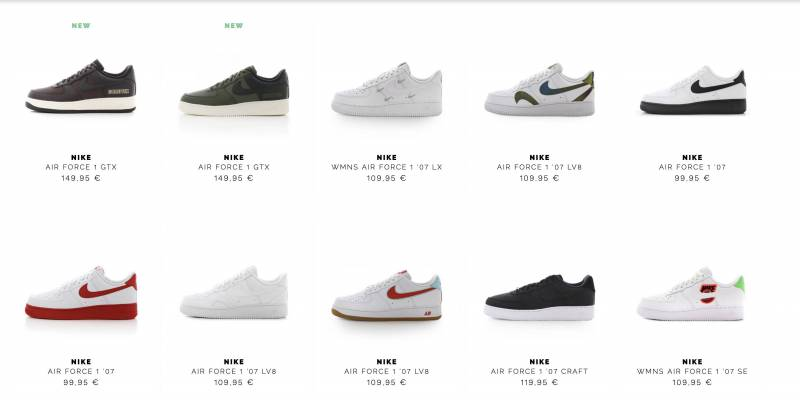 Air Force 1 Black Friday Sale