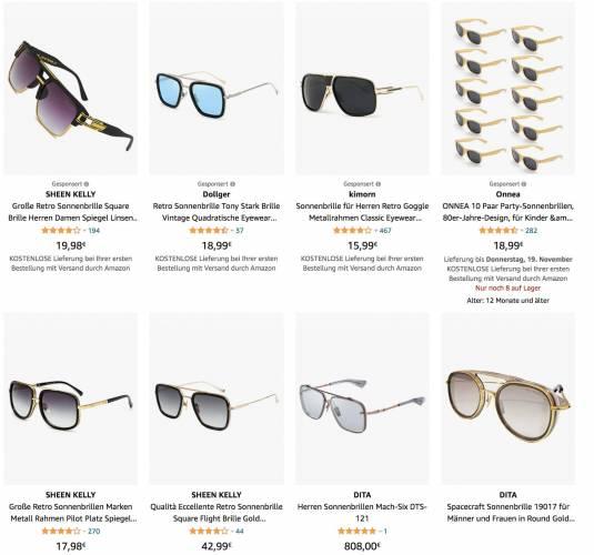 Eno Sonnenbrille Alternative
